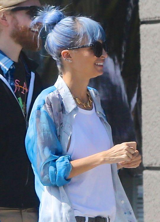 nicole-richie-blue-hair