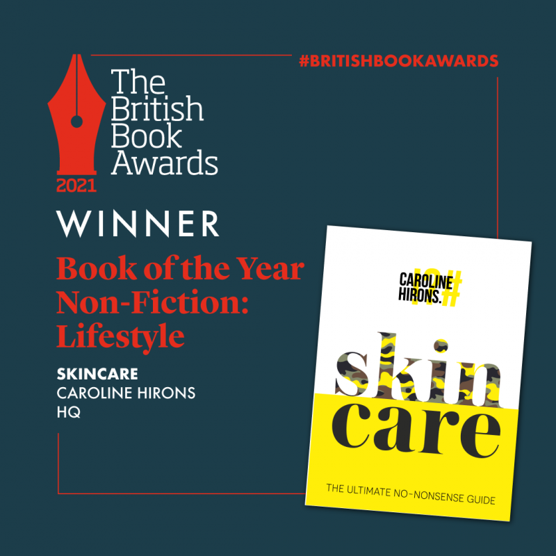 LIFESTYLE BOOK OF THE YEAR AT THE BRITISH BOOK AWARDS!