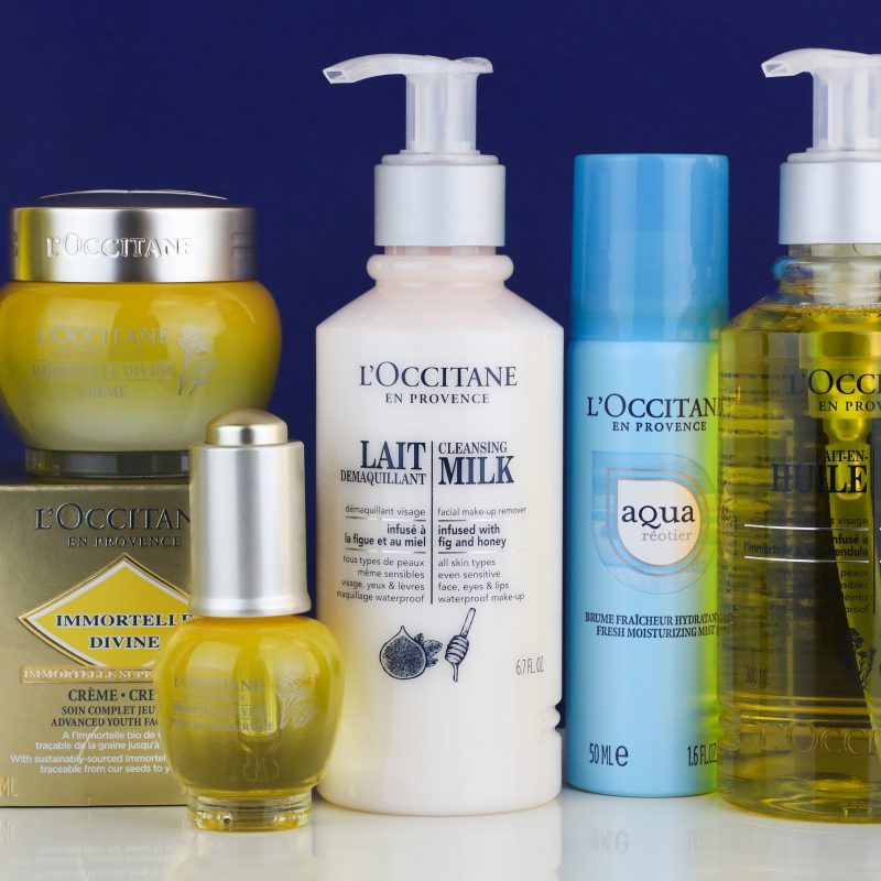 AD | My L'Occitane Skincare Favourites